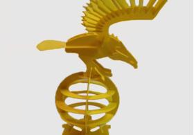 老鹰3D拼图游戏